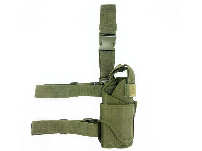 8L/10L/30L/55L/80L Outdoor Military Tactical Camping Hiking Trekking Backpack  Green Pistol Pouch