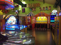 Amusement arcade floor staff