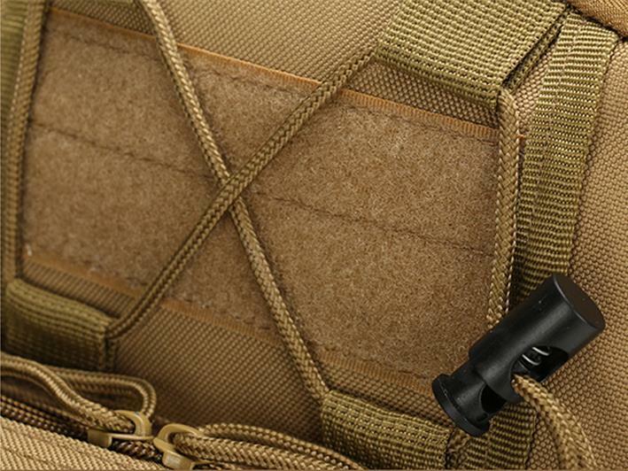 Men Backpack Molle Tactical Sling Chest Pack Shoulder Bag Outdoor Hiking Travel 4