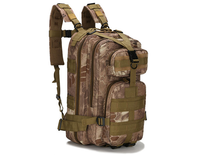 8L/10L/30L/55L/80L Outdoor Military Tactical Camping Hiking Trekking Backpack  30L Arid Pythons Grain