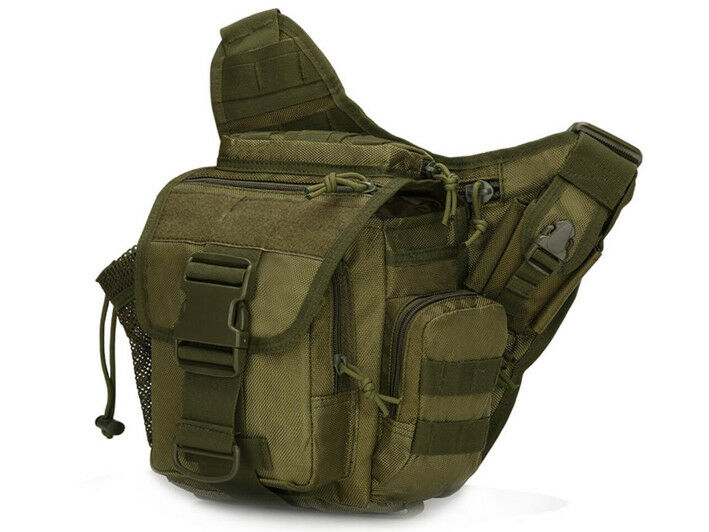 8L/10L/30L/55L/80L Outdoor Military Tactical Camping Hiking Trekking Backpack  6L Green