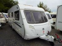 2009 Swift Coastline 540SE Spacious Caravan with New Awning in Beautiful Condition