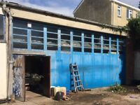 3 car berth secure workshop/garage/storage to rent - 1m from Taunton Train Station