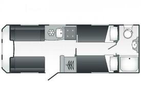 2022 Coachman VIP 565 New Caravan