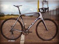 Brand New De Rosa (54s) Carbon Road Bike - Campagnolo Record 11sp Groupset / Dedacciai Carbon Wheels