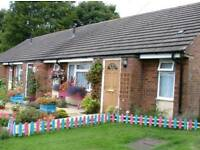 1 bed bungalow Audley to swap for same in Ďorset