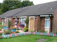 1Bed bungalow in Audley Newcastle under Lyme