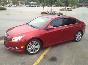 2012 Chevrolet Cruze LT Turbo + RS Package