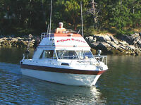 24ft Haida Campion, Comand Bridge