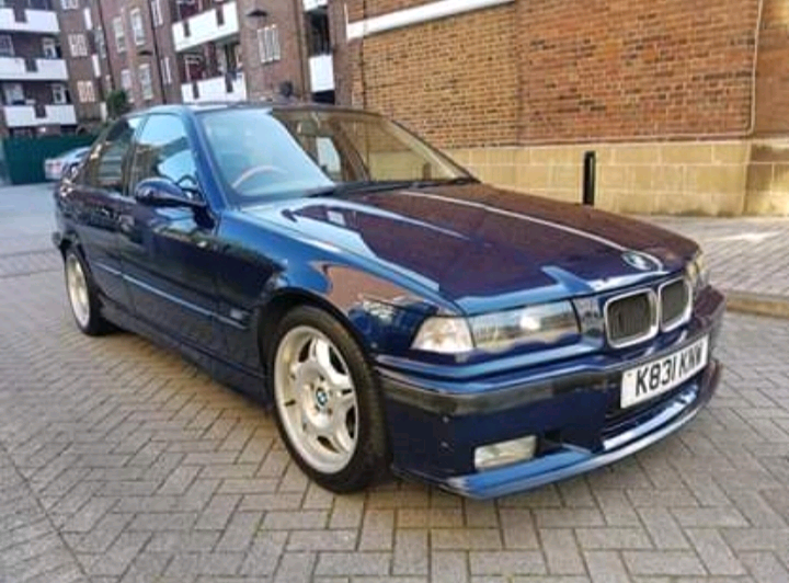 Bmw M3 E36 1993 320i Auto Full M3 Bodykit Mauritious Blau In Haringey London Gumtree