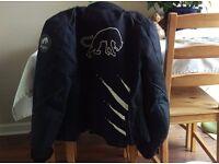 Ladies Furygan Textile Motorcycle Jacket Size M