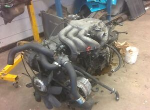BMW M20B27 and auto trans + lots of parts out of an E30 325e
