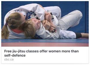 Women's Brazilian Jiu Jitsu - free classes