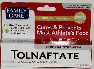Medicated Antifungal - 1 Tolnaftate Antifungal Medicated Cream Cures & Prevents Most Athlete's Foot NIP