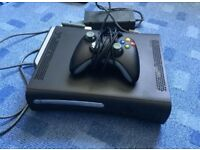 Xbox 360 console and controller