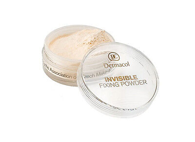 Dermacol INVISIBLE TRANSPARENT Fixing Powder Make-Up Matte LIGHT NATURAL - Invisible Matte