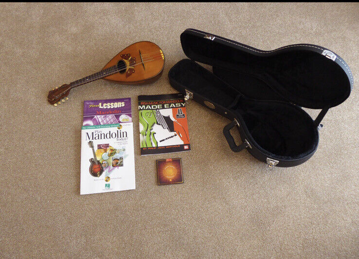 Early 20th Century Mandolin Set Up In Excellent Condition