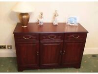 WOOD 3 DOOR SIDEBOARD ** FREE DELIVERY AVAILABLE **