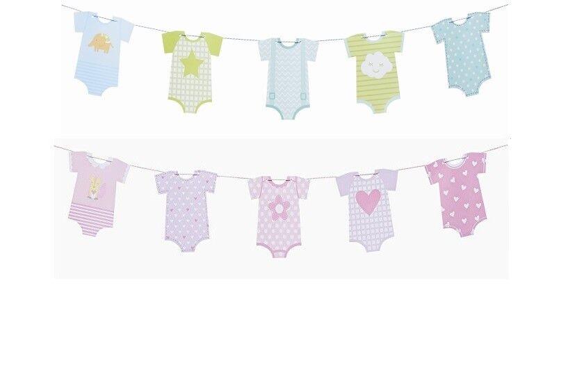 Girlande Baby-Boy oder Baby-Girl Taufe Geburtstag Junge Mädchen