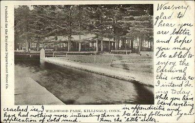Killingly CT Wildwood Park c1905 Postcard ()