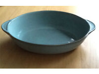 Denby Regency Green Large Oval Serving Dish