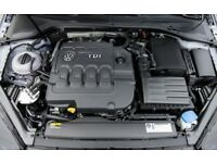 VW GOLF MK7 GTD 2.0 TDI CUNA ENGINE BLOCK 184bhp / LOW MILES & 1 YEAR OLD