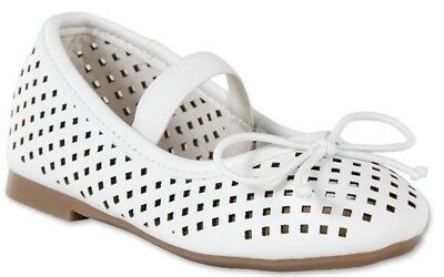 Ballet Flats,  ALISSA by Piper Shoes  toddlers  White  Asst sizes.  NWT