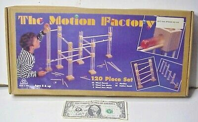 The Motion Factory - Marble Maze Building Set - Tangent Toy Co - Factory Sealed](Marble Building Set)