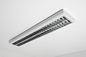 Sospensione da ufficio Lampada da soffitto Design Lampadario Moderno Nuovo 52...