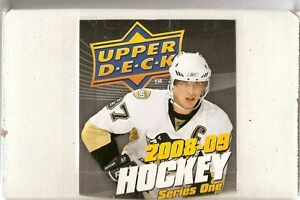 2008-09 Upper Deck 1 Hockey Base Set (200 cards)