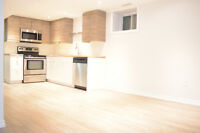 Newly Renovated Lower Unit 1 Bedroom + Den – Bathurst and Dupont