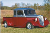 1935 custom crew cab pick up