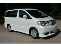 2002 TOYOTA ALPHARD 3.0 V6 AUTOMATIC EIGHT SEATER MPV LOW MILEAGE