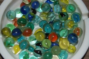Vintage Canning Jars With with Marbles and some loose Marbles London Ontario image 7