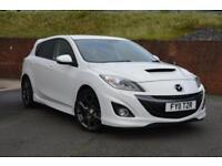 2011 Mazda 3 2.3T MPS 5dr Petrol white Manual