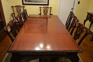 Indonesian Rosewood Dining Room Set- MUST SEE!!