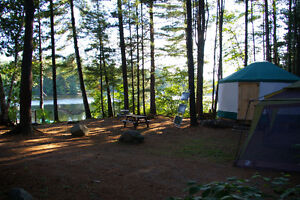 Waterfront Yurt available this Summer