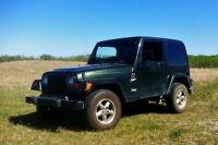1998 Jeep TJ Sport, 4.0L Manual