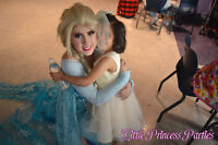 ELSA and ANNA Parties! Little PRINCESS Parties!