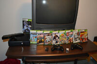 Xbox 360 4 GB with Kinect and 24 games