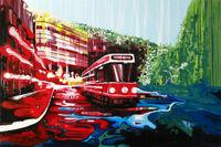2 beautiful paintings by Toronto artist Amy Shackleton / framed