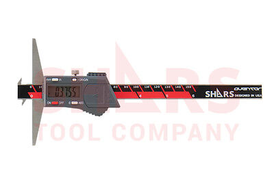 Aventor 6 150mm Double Hook Electronic Digital Depth Gage New