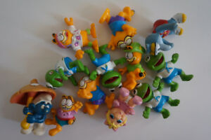 Figurines vintages diverses ( Garfield, The Muppet,Miss Piggy)