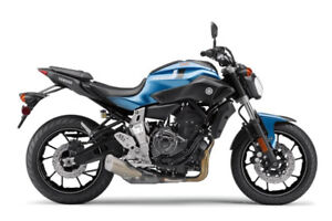 2017 Blue FZ-07 with ABS