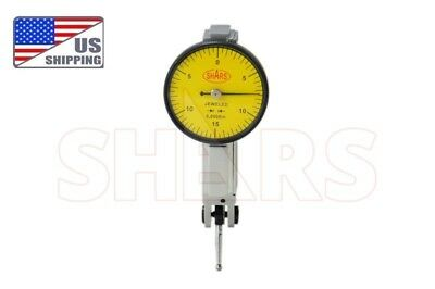 Shars Precision Yellow .030 Test Indicator . 0005 Gr. Dial Reading 0-15-0 New
