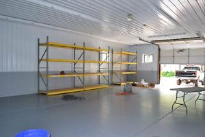 Vermilion Alberta  24 x 30 heated commercial storage / work bay