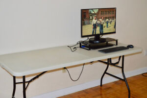 6 Feet Portable Likewise Table