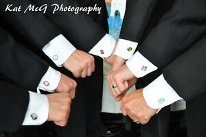 Wedding Cufflinks! Add a little personality to your BIG DAY! London Ontario image 9