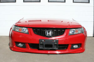 Jdm Acura TSX (CL9) Hid Front End Nosecut & Lip (2004-2008)