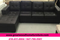 ** CONDO SIZE SECTIONAL SOFA FOR $449 ONLY